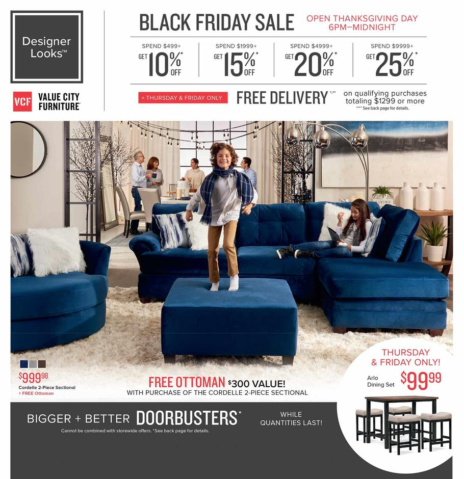 Value City Furniture Black Friday Page 1